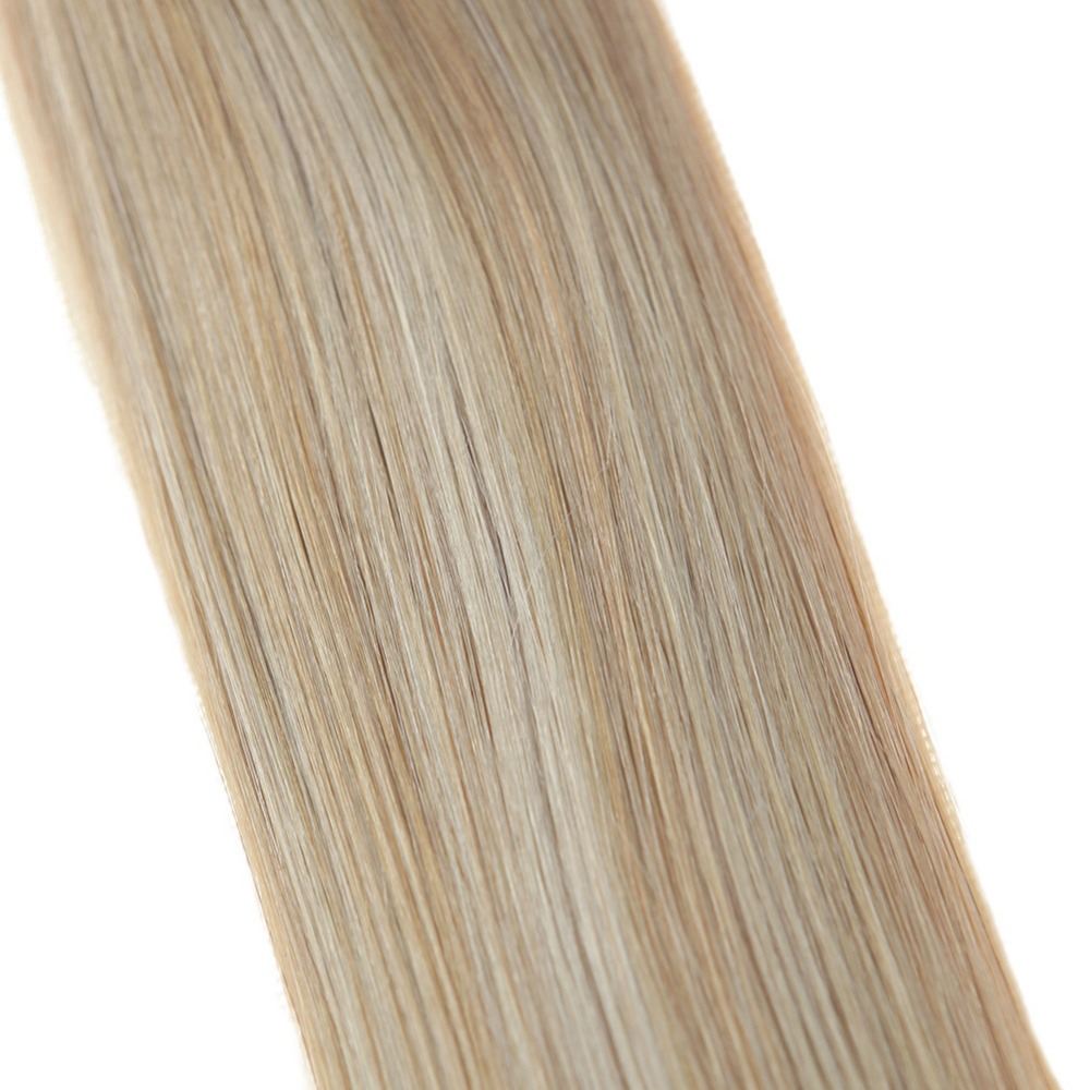Full Shine Skin Weft Tape in Human Hair Extensions Balayage Color 6 27 6 60 50g 20 Pieces 100 Remy Hair Adhesive Tape ins in Tape Hair Extensions from Hair Extensions Wigs