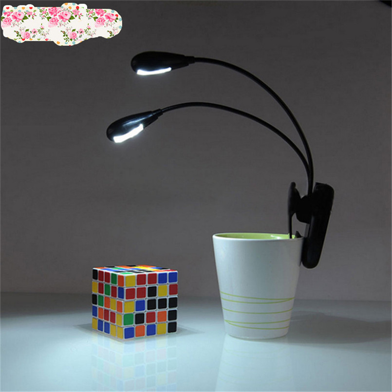 High Quality led stand reading lamp book lamp Clip on LED Lamp for Music Stand and Book Reading Light clip ledmusic clip lamp ...
