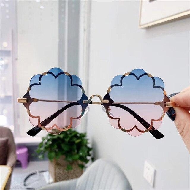 Flower Shape Sunglasses  1