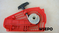 Top Quality! Pull Recoil Starter Assy for 25CC Universal Gasoline/Petrol 2 Stroke Small Chainsaw/Wood Spliter