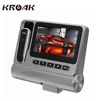 KROAK Novatek 96223 FHD 1080P 3 0 Inch Car DVR With Bluetooth Earphone Dash Cam HD