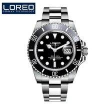 Męski zegarek mechaniczny automatyczna data moda luksusowa marka Sapphire Diver wodoodporny zegar męskie lśniące zegarki na rękę