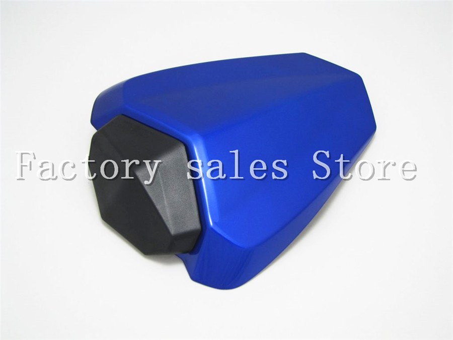 Blue For Yamaha YZF1000 YZF 1000 R1 2009 2010 2011 2012 2013 2014 Rear Seat Cover Cowl Solo Racer Scooter Seat Motorbike YZFR1