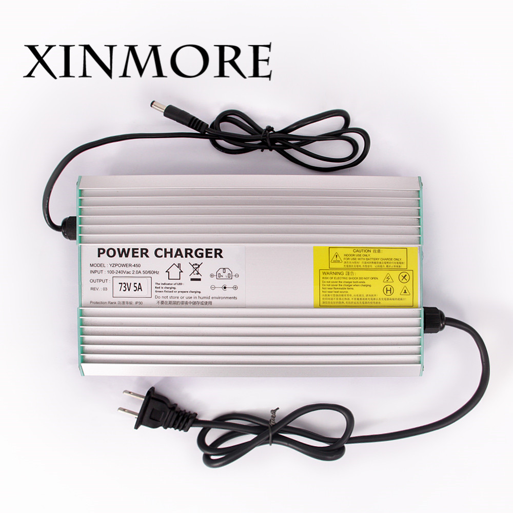 XINMORE 67.2V 5A 4A Lithium Battery Charger for 60V Li-ion Polymer Scooter With CE ROHS 100V - 240V AC [li] 7 4v 4500mah lithium polymer battery dew point battery with 8 4v1a charger li ion cell