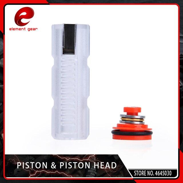 Élément léger Piston & tête de Piston pour Airsoft AEG Ver. 2/3 accessoires de chasse de boîte de vitesses