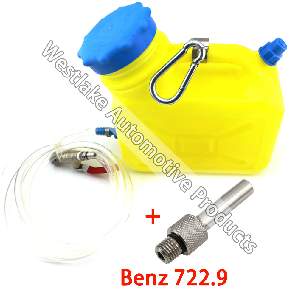 цена на Auto Transmission Oil Refilling Refill Tool Kit With Adaptor For Benz 722.9
