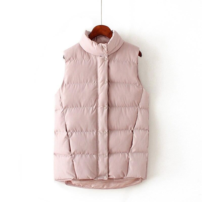 Manteau Coréenne En H2 2019 Montant Gilet Cerise Couleur Serviette Sauvages Coton Taille Col Épaisse Version De Grande Nouvelles Femmes Hiver Brx25 6qx6wvgUB