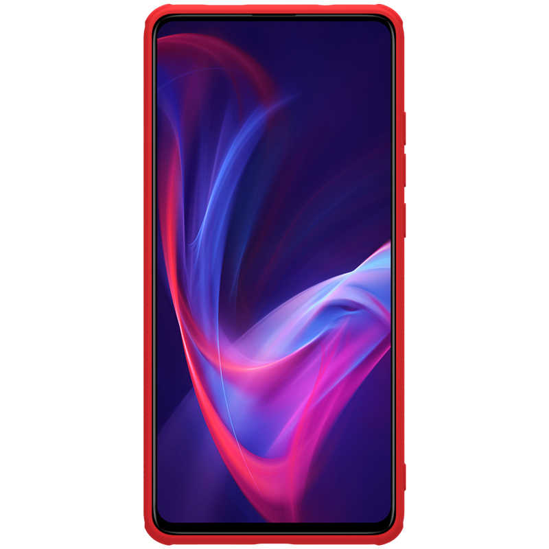 Image 5 - Nillkin płynnego silikonu obudowa do Xiaomi czerwony mi K20/K20 Pro/mi 9 T/mi 9 T Pro miękkie żel gumowe cienkie Slim ochronna futerał na telefonJednostronne etui   -