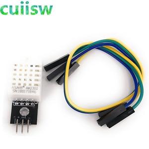 Image 2 - 5PCS DHT22 דיגיטלי טמפרטורה ולחות חיישן AM2302 מודול + PCB עם כבל
