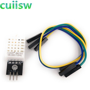 Image 2 - 5PCS DHT22 Digital Temperature and Humidity Sensor AM2302 Module+PCB with Cable
