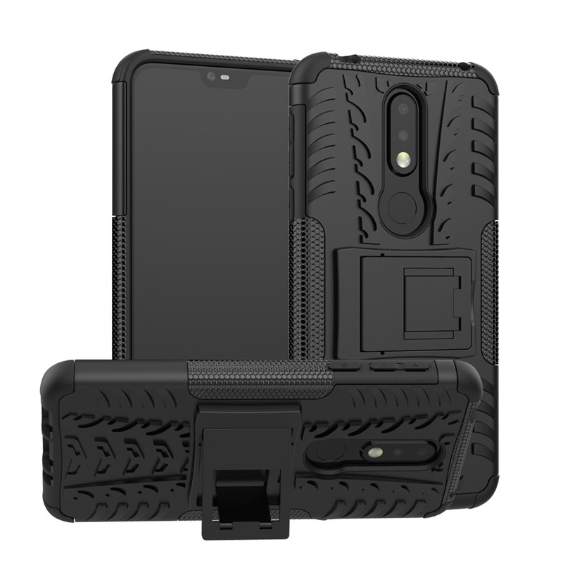 Case For OPPO F9 Shockproof Armor Anti-Knock Silicon Phone Case For OPPO F9 With Kickstand Soft TPU Cover Coque Capa Shell