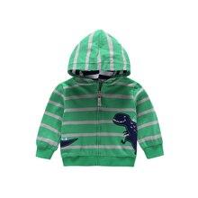 spring autumn Children Outerwear Coats toddler baby boy stri