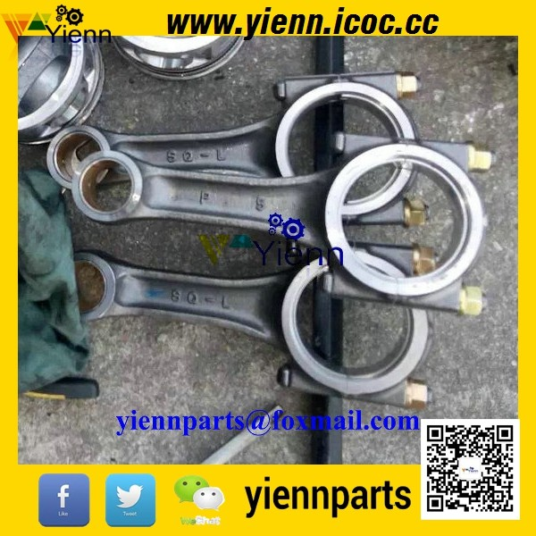 US $135 0 |For Mitsubishi S3Q2 Used Connecting Rod 32C19 00012 Fit  Mitsubishi Engine Caterpillar 303 Excavator S3Q2T Diesel Engine Parts-in  Pistons,