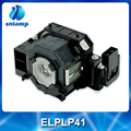 China supplier lamp compatible projector bulb ELPLP41 V13H010L41 for EMP-260 EMP-77C EMP-S5 EMP-X52 EMP-X6...