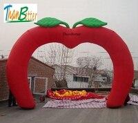 ThanBetter горячая Распродажа в форме сердца гигантские надувные свадебные арки/арки, надувные декорации для свадьбы