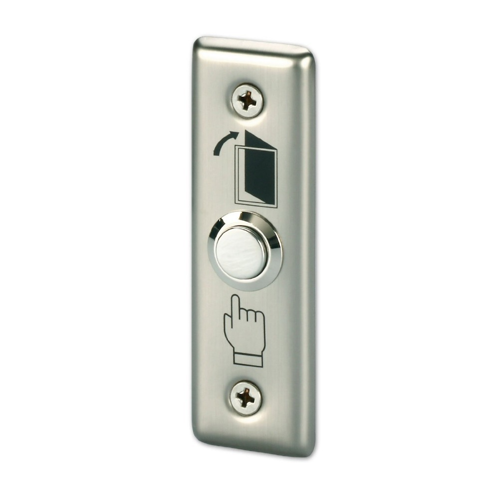 Free Shipping door exit button for Access control Stainless Steel Push Release Switch Panel