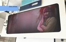 «Горячая линия» Майами геймерский коврик для мыши HD узор 800x300x3 мм игровой коврик для мыши модные аксессуары ноутбуков padmouse эргономичный коврик