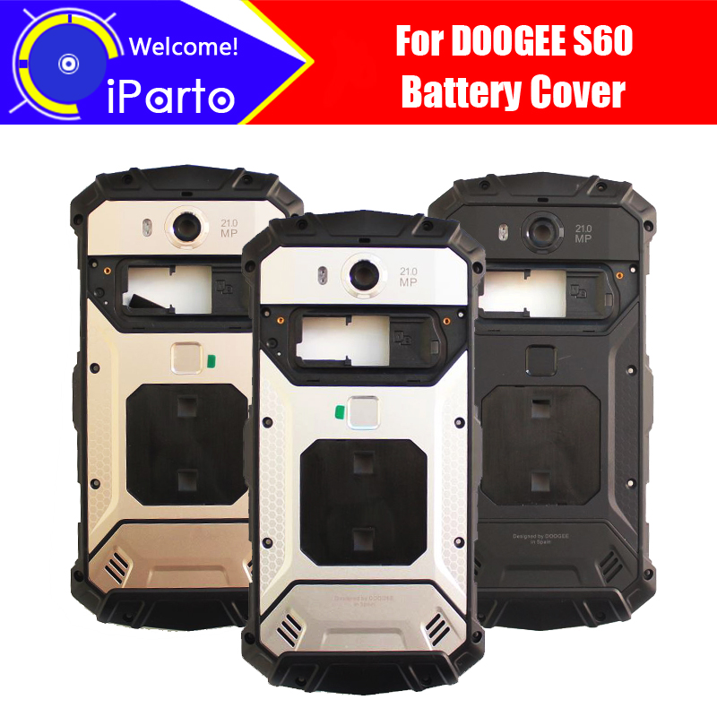 5.2 Inch DOOGEE S60 Battery Cover 100% Original New Durable Back Case Mobile Phone Accessory For S60