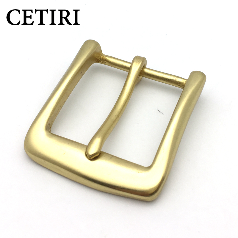 CETIRI High Quality Men Solid Brass Belt Buckle With Metal Cowboy Belt Head Jeans Accessories For 4cm Wide Pin Belt