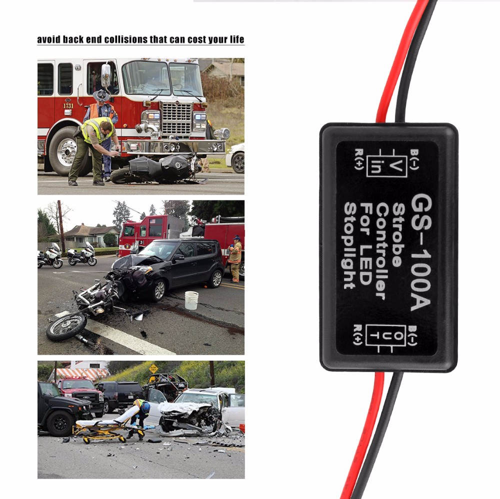 Gs 100a 12 24v Flash Strobe Controller Flasher Module For Led Drc Moto Ez Electric Wire Kit Crfs Only Your Source Honda 11