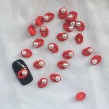 10 шт/упаковка металлические гвоздики для ногтей