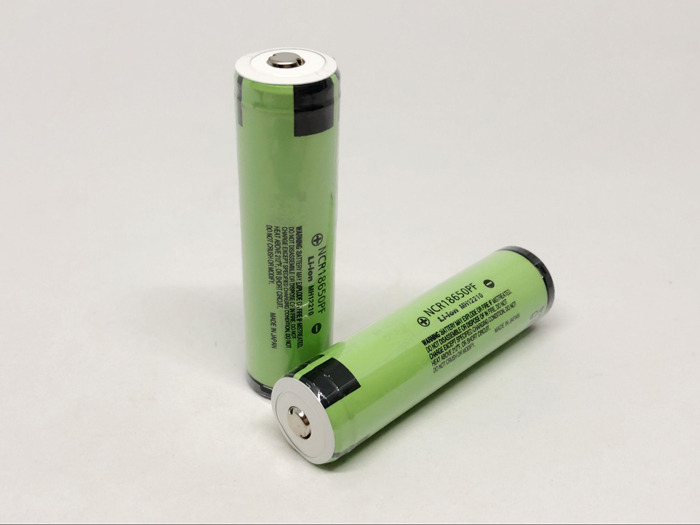 2 NCR18650PF pçs/lote Novo Original Para Panasonic 18650 2900 mAh 3.7 V Protegido Bateria Li-ion Recarregável com PCB Para E -cigarro