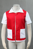 2016 New Style Hot Go Trainer Red Cosplay Costume