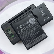 2000mAh BOPA2100 / B0PA2100 Battery For HTC Desire 310 310W Cell Phone Battery With LCD Desktop Charger стоимость