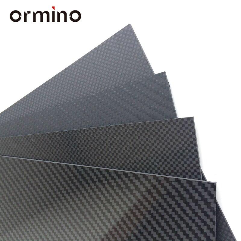 Ormino 3K Carbon Fiber Tube for Drone diy Quadcopter Frame arm Landing Gear 6mm 8mm 10mm 12mm 14mm 15mm 16mm Rc Drone kit diy tator rc 3k carbon fiber plate 3 5mm tl2900
