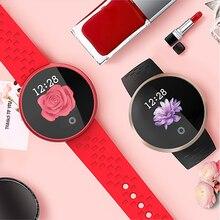 TWK Модные женские Смарт-часы для женщин водонепроницаемые часы пульсометр Смарт фитнес-браслет Здоровье Фитнес reloj inteligente mujer