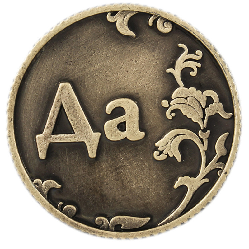 Yes Or No Decision Coin Russia Bronze Old Coins Home Decoration Accessories Feng Shui Commemorative Coin Letters Souvenir Coins