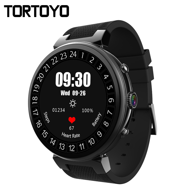 TORTOYO I6 Android 5.1 OS 3G Smart Watch Phone 2G+16G Business Smartwatch GPS WIFI MTK6580 Sports Heart Rate Monitor HD Camera
