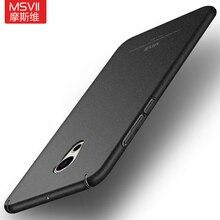 Оригинальный Msvii чехол для Meizu Pro 6 6 S Жесткий матовый PC задняя крышка 360 Защита Корпус для Meizu Pro6 Pro6s