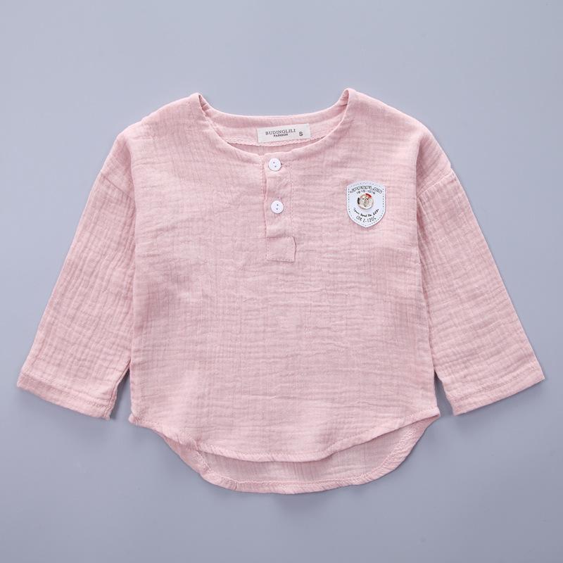 HTB1VdX1SXXXXXXBapXXq6xXFXXXU - Infantis Childrens spring autumn summer cotton Boys tops tees long sleeve t shirt +bind pants 2pc/set ,kids Clothes 0-5Year