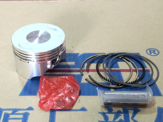 Motorcycle piston and ring CB 200cc CB250CC Lifan 200cc piston ring sleeve plug for piston pin piston diameter of 65.5mm to 15mm