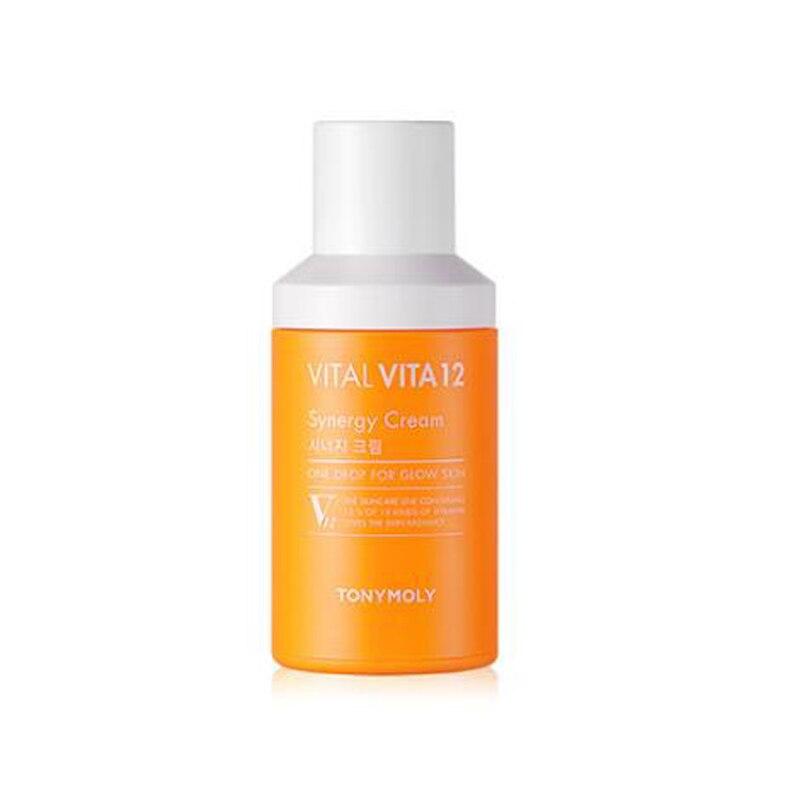 Korea Cosmetic Vital Vita 12 Synergy Cream 45ml Vitamin Face Cream Retinol Vitamin E Collagen Retin Anti Wrinkles Whitening велосипед khs vitamin b ladies 2016