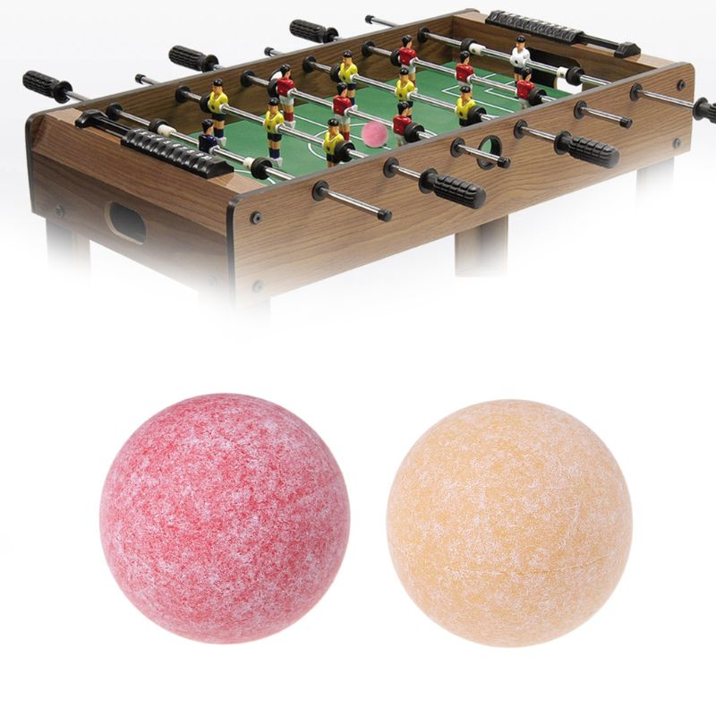 THOSSTII 36mm Foosball Table Soccer Ball Fussball Roughened Surface Football Indoor Game