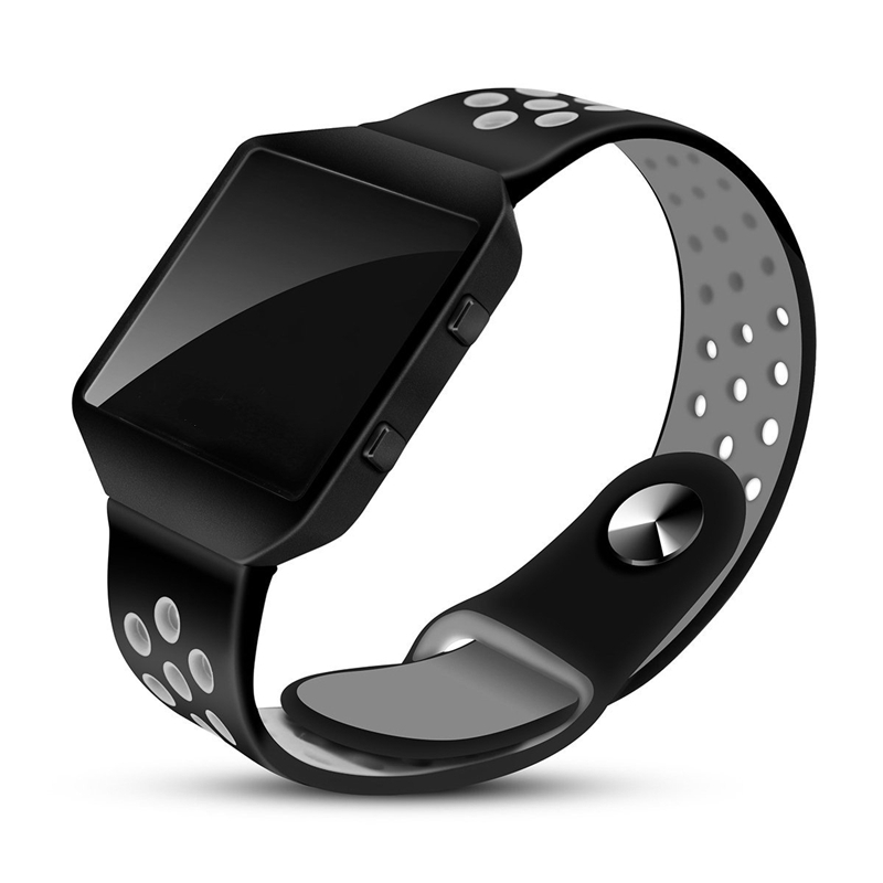 Bemorcabo for Fitbit Blaze Bands with Frame,Silicone Replacement Breathable Sport Strap Band Bracelet Wristband for Fitbit Blaze fohuas for fitbit blaze bands soft silicone replacement sport strap band for fitbit blaze smart fitness watch no frame page 1