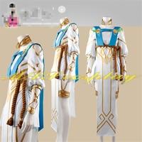 Hot Game OW Angel Victory Goddess Skin Cosplay Costume Woman Dress Beautiful Custom Made Clothing