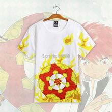 Kyokai no Rinne japanese anime cos font b men b font cosplay font b T shirts