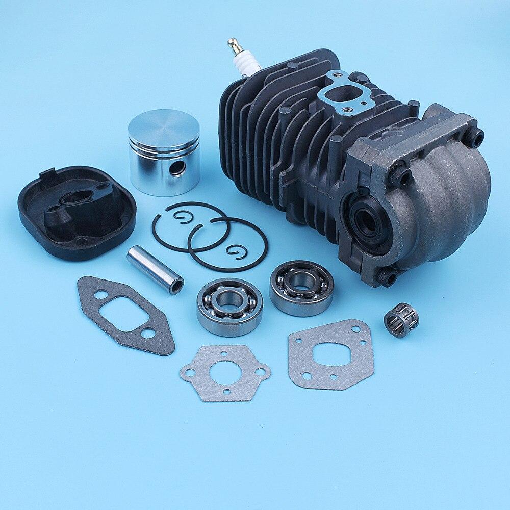 2150 Poulan 2450 PP221 Bearing PP260 2550 Cylinder Seal 2250 Nikasil Chainsaw For Gasket Piston PP220 Kit SM4018 1950 41mm Crank