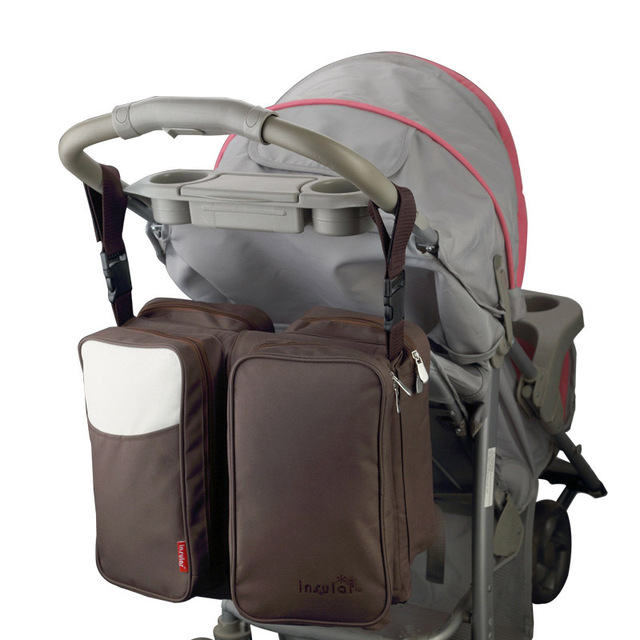 Insular 2-in-1 Portable Crib + Diaper Bag