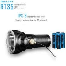 IMALENT RT35 מגנטי טעינת פנס XHP35 היי LED מקס 2350 לום קורה מרחק 1338m חיצוני לפיד כף יד זרקור