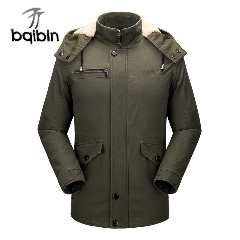New Winter Jacket Men Brand Clothing Outwear Fleece Thick Jackets Warm Cotton Coat Windproof Parka Men Plus Size 4XL new winter jacket men casual cotton thick warm coat men s outwear parkas brand fashion plus size 4xl coats jackets outwear t0057