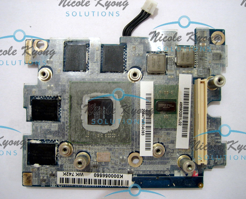 WK742 WK743 G84 600 A2 8600M LS-3449P K000056560 965 VGA Video Card for Toshiba P200 P205 X205 X200 laptop видеокарта для пк ls 4841p vga dell 1425 1427 g98 600 u2 vga