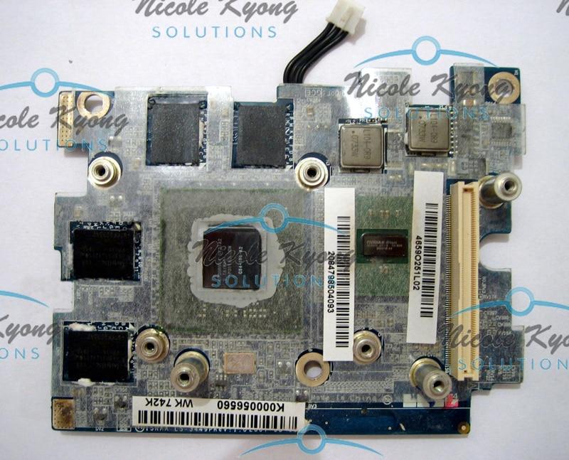 WK742 WK743 G84 600 A2 8600M LS-3449P K000056560 965 VGA Video Card for Toshiba P200 P205 X205 X200 laptop цена
