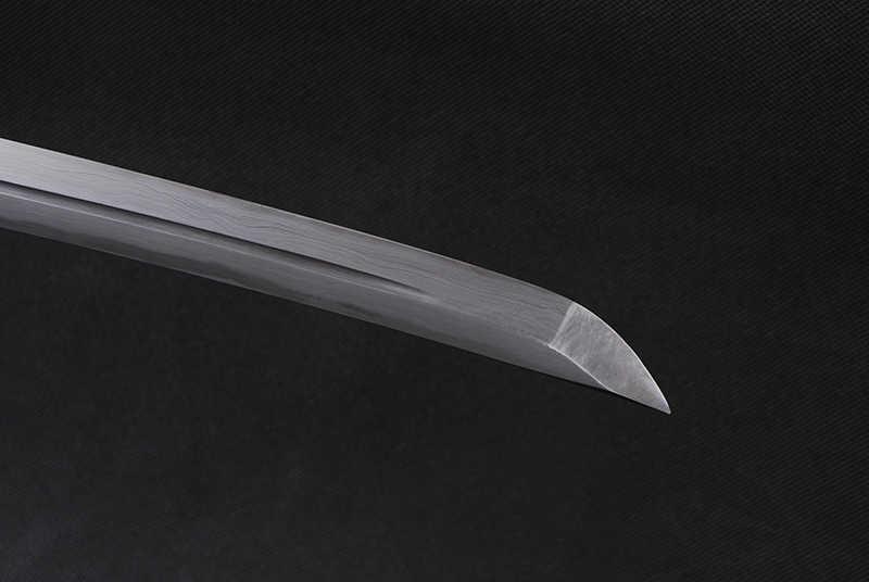 Miecz DIY ostrze ostre japoński samuraj miecz Katana damaszek ostrze UnokubiZukuri Espadas gotowy do walki Full Tang podwójne cześć nóż