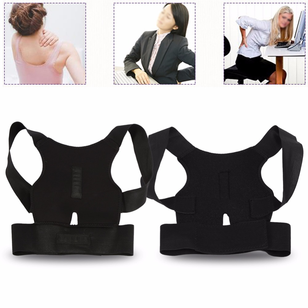 High Quality Adjustable Posture Corrector Belt to Support Back and Spine for Men and Women Suitable to Pull the Back for Body Shaping 8