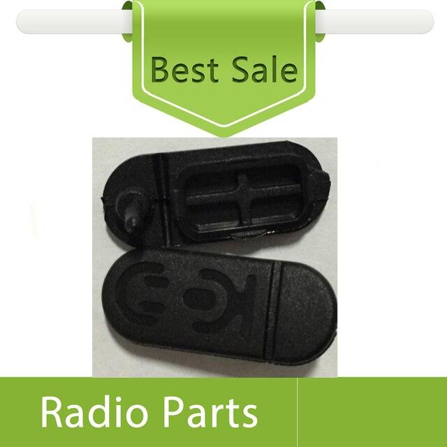 10X ensemble de couvercle anti poussière pour Motorola CP1200 CP1300 CP1660 couverture de prise découteur