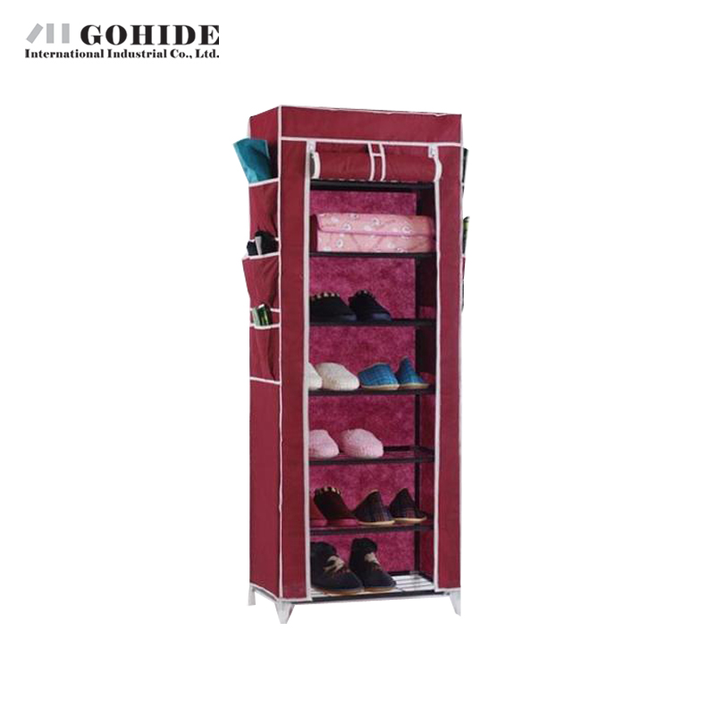 Gohide Non-Woven Shoe Hanger Simple Shoe Hanger Storage Rack Roller Shutter Film Network Multi-Functional Cotton-Made Shoes Rack m middot h middot j 40s the simple shoe 10 combination cotton made shoes cabinet